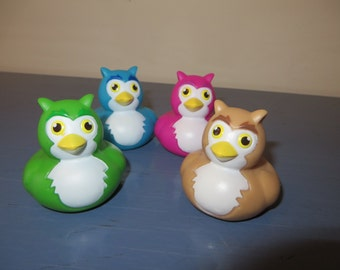 Owl rubber ducks - They're a Hoot!  Owl always love you.