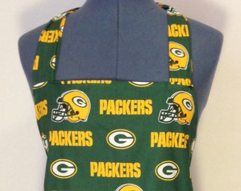Green Bay Packers- Full Size BBQ Apron with Pockets