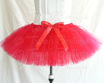 Adult Teen Pre-teen Tutu, Economy Line - Less Full Tutus, Choose Your Own Colors, Custom 10'' Sewn Tutu - Running Tutu