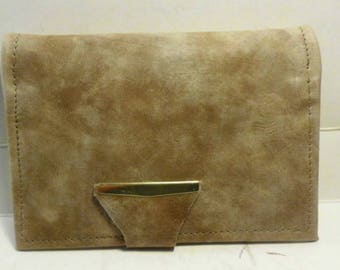 Leather Top Stub Check book Cover