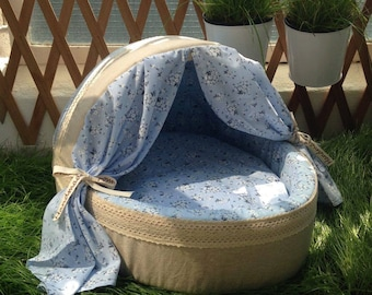 Handmade soft pet bed, suitable for dogs & cats. In stock now