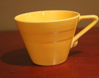 Homer Laughlin-Harlequin- Coffee Cup in Sunny Yellow