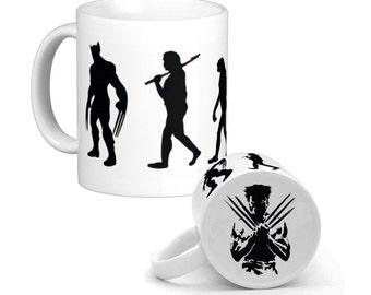Evolution of Wolverine Coffee Mug, hs0221