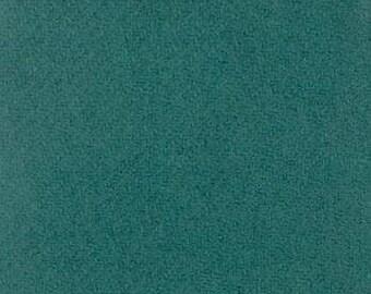 Moda 100% Wool Dark Teal  5481041 - 1/2 yd x 54 inches