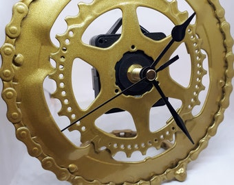 7 inch recycled bike part desk clock (Price includes shipping)