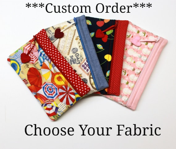 CUSTOM ORDER ONLY  - Choose Your Fabric Side Kick Bag
