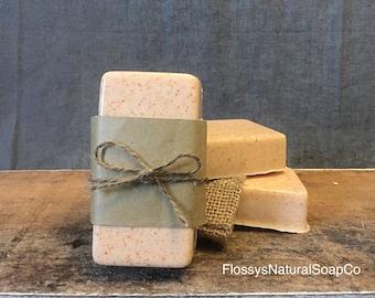 Cedarwood & Bergamot Goats Milk Soap
