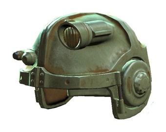 Fallout 4 - Combat Armor Helmet - Pepakura File
