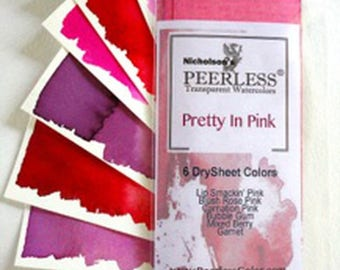 Pretty in Pink - Set of 6 Colors