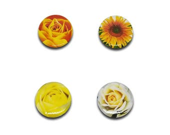 """Mothers Day Jewelry - Flower - Magnetic Necklace - 1"""""""