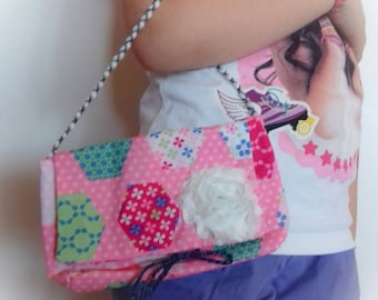 Child's hand stitched bag