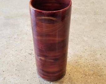 OOAK Handcrafted Wood Mug Cedar 16 oz Tankard, Beer Stein, Wood Mug, Beer Mug, Drinking Vessel