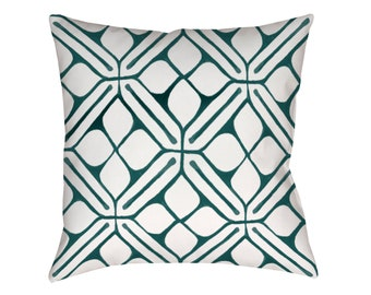 Rocco Teal Cushion Cover