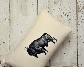 "Cushion Cover -  ""The Royal Collection"" - Bison"