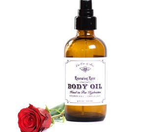 Renewing Rose Anti-Aging Skin Serum // Rosehips // Face and Body Oil