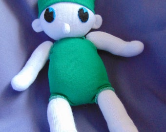 Sock Child Soft Toy