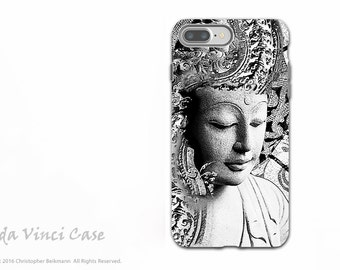Zen Buddha iPhone 7 Plus - 8 PLUS Case - Dual Layer Protective Apple iPhone 7 /8 Plus Cover - Bliss of Being by Artist Christopher Beikmann