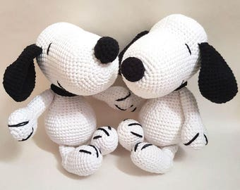 Amigurumi Patterns Snoopy : Snoopy etsy
