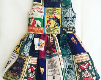 Childs Book Dress, Literary clothes for Children, Book dresses By Rooby Lane