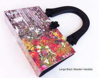 Stephen King Recycled Book Purse - Liseys Story Book Purse -  BabyLuv Book Purse - Purse made from a book - Pocketbook Purse - Horror Genre
