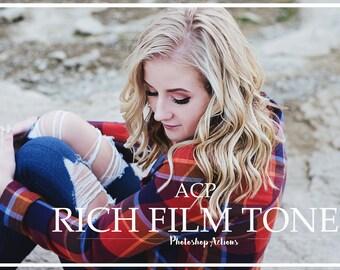 18 Rich Film Tones- Photoshop Actions
