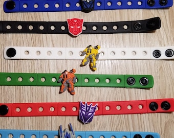 10  Transformers  Silicone Bracelets Party Favors