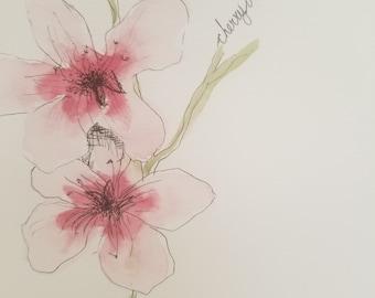Cherry Blossom Print