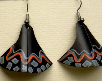 ref 629 tube earrings