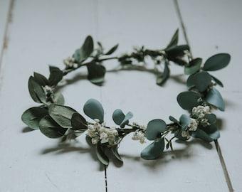 Sage Flower Crown