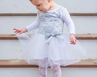 Baby Girl Dress Special Occasion, Baby Easter Dress, Toddler Girl Easter Dress, Toddler Wedding Dress, Grey Baby Dress, Infant Tutu Outfit
