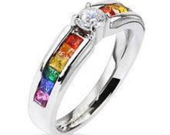 Gay Pride Ring