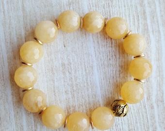 Lotus Bead Bracelet