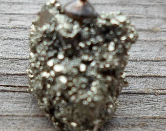 Iron Pyrite Nugget Pendants
