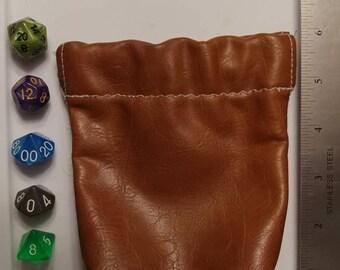 Flex Frame Dice Bag with Complete Dice Set