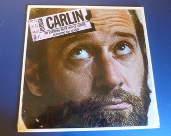 George Carlin An Evening With Wally Londo Vinyl Record LD 1008 Little David Records 1975