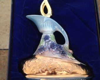 Jim Beam Decanter Genie Lamp Empty 1977 185 months With Original Box