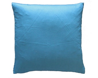 blue decorative pillow