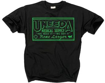 UNEEDA MEDICAL SUPPLY T shirt return of the living dead