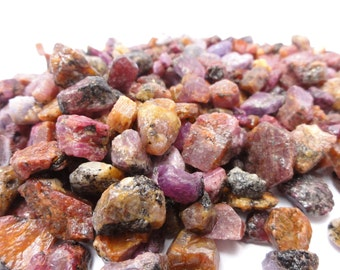 Ruby Crystals, Sapphire Crystals, rough, gems gemstones