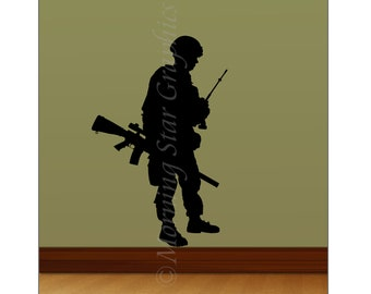 VINYL SOLDIER Wall Art Decal M-102