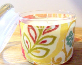 Soy Candle, Citrus Sage Soy Candle, 100% Soy Candle, Scented Soy Candle, Decorative Candle, Gift Candle,Kitchen Candle, Citrus Candle