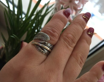 Phoenix Feather Ring