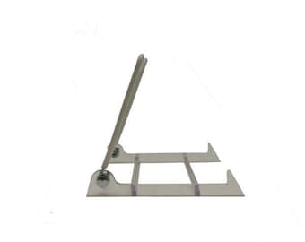 """Vinyl Plate Stand Easel 3 1/2x5x4 1/2"""" Multiple Sizes"""