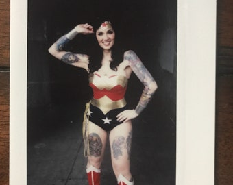 One of a kind Wonder Woman Instax