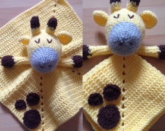 Crochet Animal Security Blanket