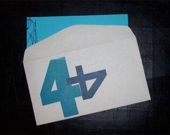 no title no. four - Chapbook / Zine / Little Book / Handmade / Letterpress