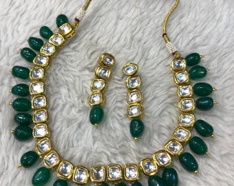 Indian necklace | Wedding Jewelry | White Indian Jewelry | Desi Jewelry | Indian Bridal Jewelry | Kundan Jewelry | Indian Wedding Jewelry