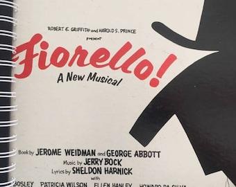 for the FIORELLO Original Broadway Cast fan   / Album Cover Notebook