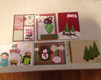 Set of 6 Christmas Cards #8