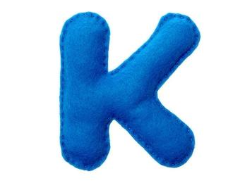 """Pattern letter """"K"""" - No. 251"""